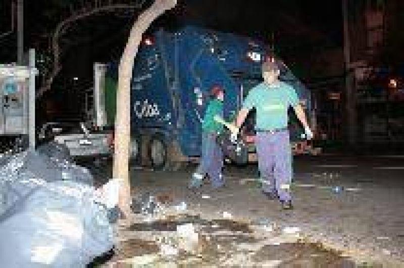 Giacomino, sin apoyo para estatizar la basura
