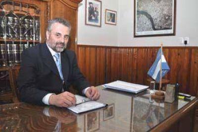 Se formalizó el regreso de Curetti a su cargo de intendente