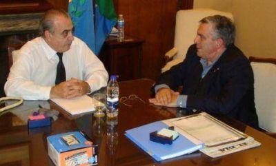 Este martes El ministro de Gobierno bonaerense recibió al intendente Brasca