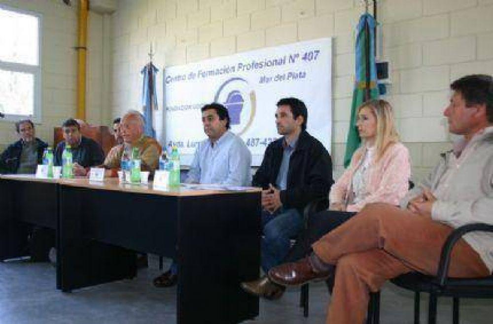 Olimpíadas Nacionales de Formación Profesional en la Escuela de la UOCRA