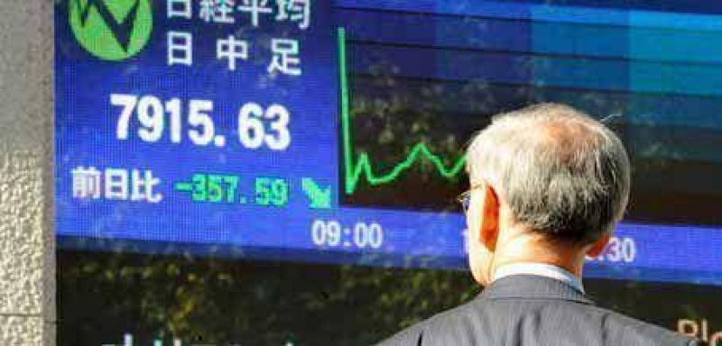 El Merval siente el coletazo de las pronunciadas ca�das en las Bolsas mundiales