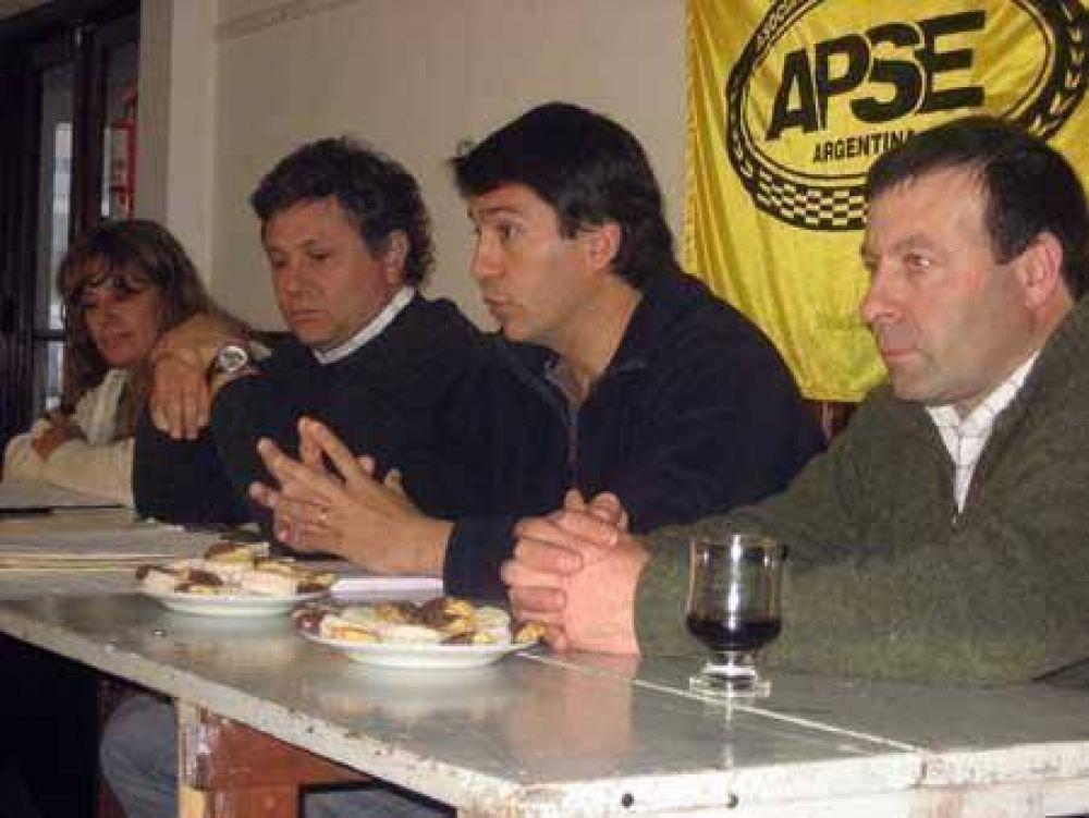 José Campos reelecto en la conducción de APSE