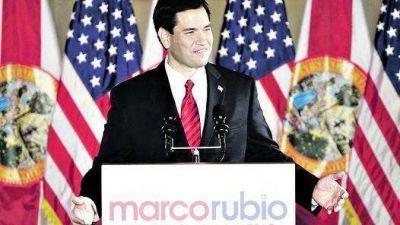 Marco Rubio, la estrella de los ultraconservadores, arrasó en Florida