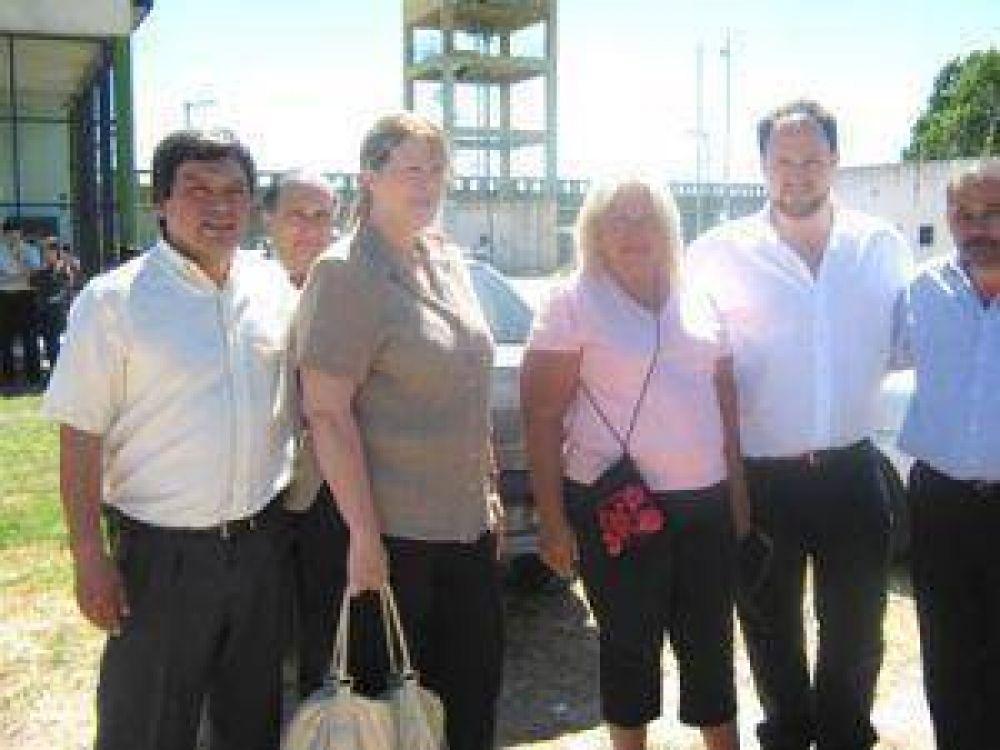 Elisa Carrió y Margarita Stolbizer visitaron el Penal 32 de Varela