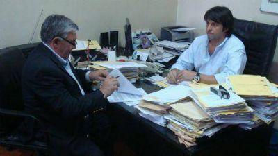 Este martes en La Plata Brasca firmó convenio con el Instituto de la Vivienda