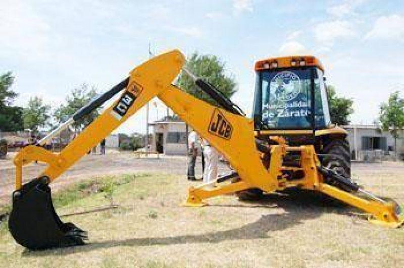 Corralón municipal Cáffaro presentó nuevas máquinas para Zárate y Lima