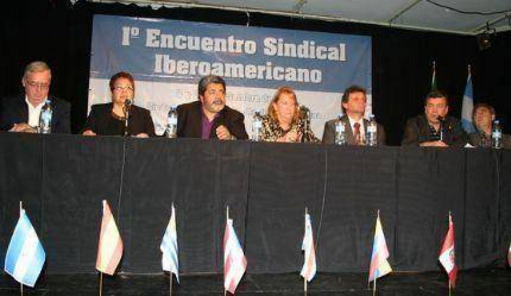Gerardo Martínez presidió exitoso Primer Encuentro Sindical Iberoamericano