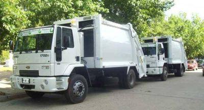 Dos nuevos camiones recolectores de residuos