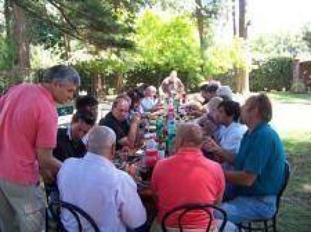 La CGT Mar del Plata cerró el año con un almuerzo al aire libre