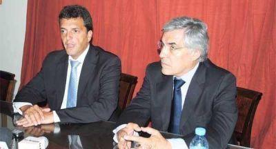 """Sergio Massa: """"Alegre es un dirigente necesario para la provincia"""""""
