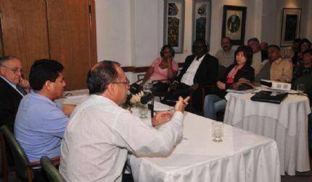 Se desarrolló Seminario Internacional de Sindicalistas en Mar del Plata