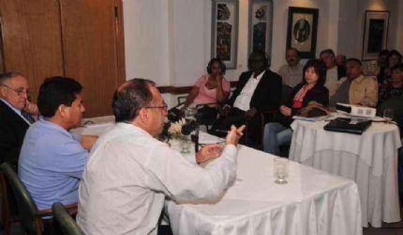 Se desarroll� Seminario Internacional de Sindicalistas en Mar del Plata