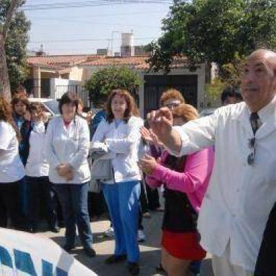 Marcolli garantiz� la continuidad del personal contratado en Salud