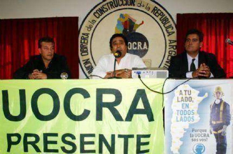 Seminario en la UOCRA sobre Prevención de Riesgos en la construcción