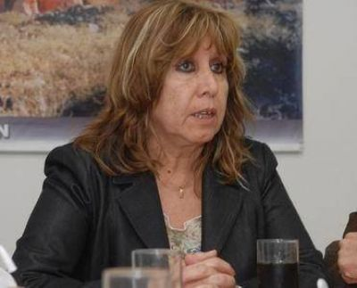 La intendenta de Icaño defendió los créditos, aun el de su marido