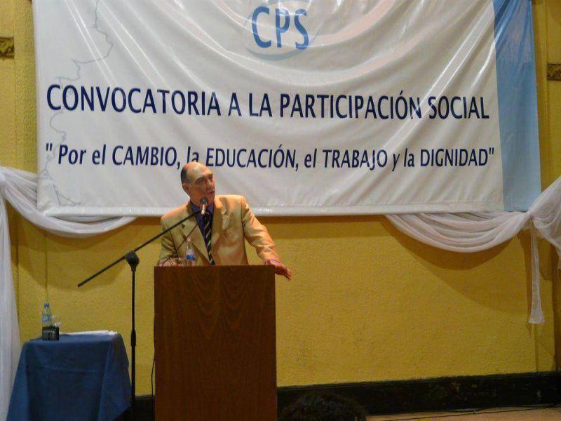 """Mondino lanzó el espacio """"Convocatoria"""" para el debate y las ideas."""