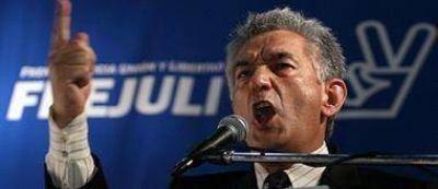Para Rodríguez Saa empezó la 'pelea' entre las distintas colectoras K