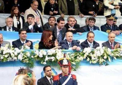 Urtubey junto a Cristina participó de los actos celebratorios del 25 de Mayo