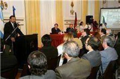 """Isa participó del aniversario del Centro de Estudios """"General Juan José Valle"""""""