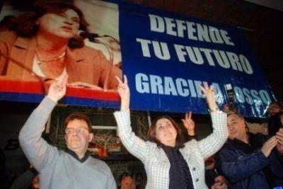 Graciela Rosso lanzó su candidatura y apuntó a su rival en las internas