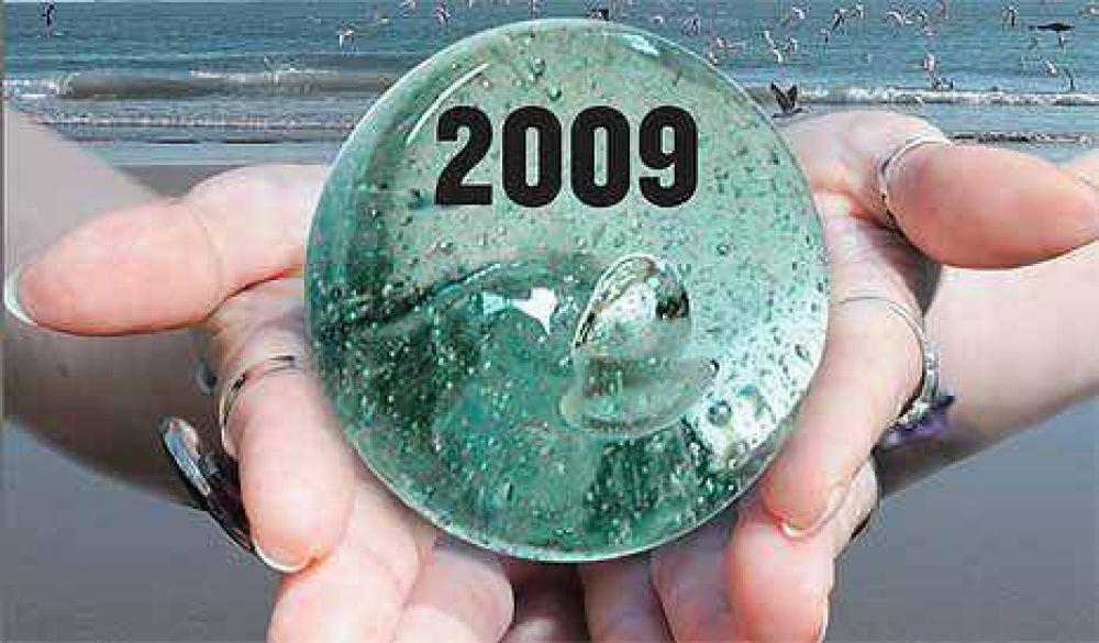 La bola de cristal 2009: pronósticos sin gurúes de la City porteña