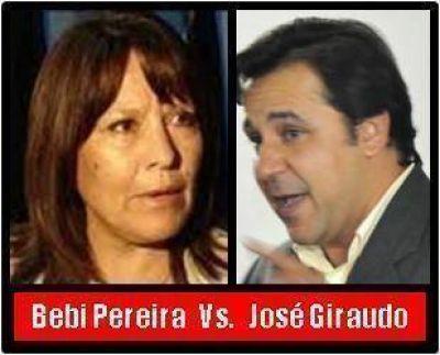 La Intendente Blanca Pereira intimó mediante Carta a Documento al Concejal José Giraudo - Pidió que se abstenga de decir que ella es candidata a diputada en 2º término y que quiere fueros legislativos