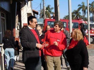 Los candidatos de la UDESO en Tigre caminaron por el distrito