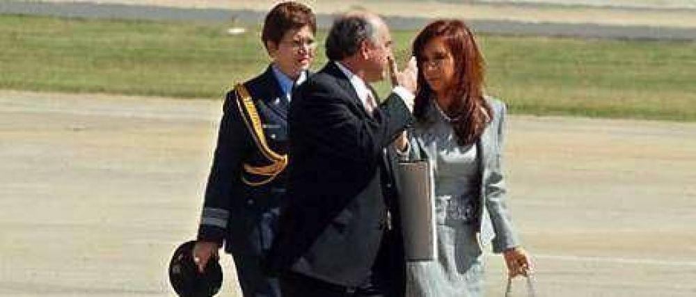 Cristina vuelve de El Calafate y ya prepara las valijas
