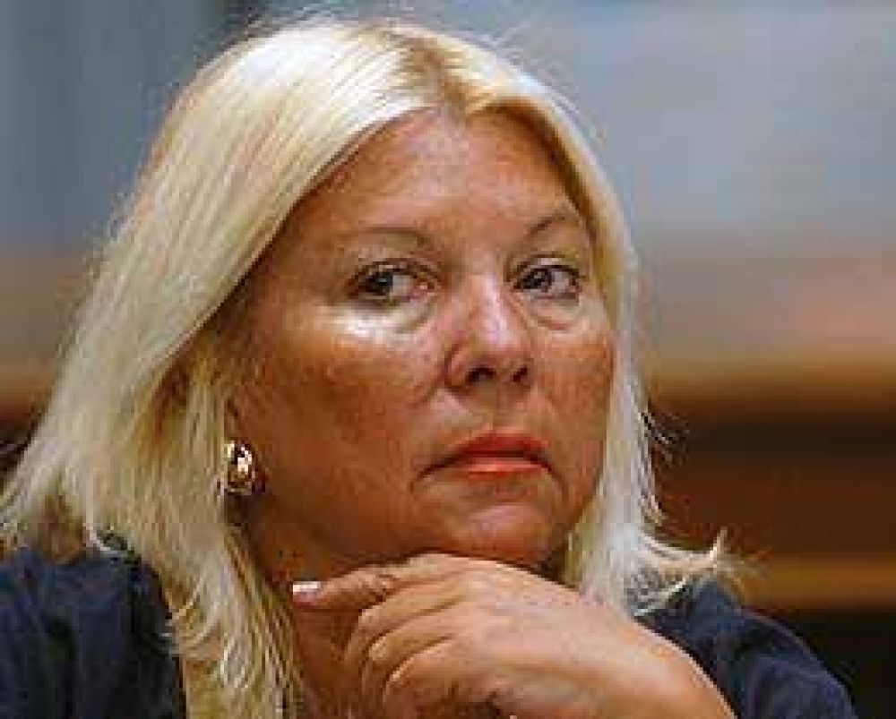 Carrió rechazó acuerdo entre la Coalición y el PRO en la Ciudad para las legislativas de 2009
