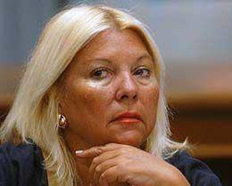 Carri� rechaz� acuerdo entre la Coalici�n y el PRO en la Ciudad para las legislativas de 2009