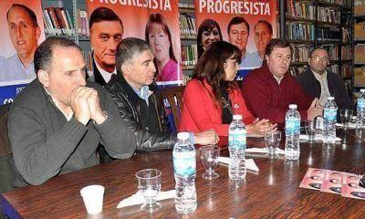 El frente progresista presentó a sus candidatos seccionales y nacionales