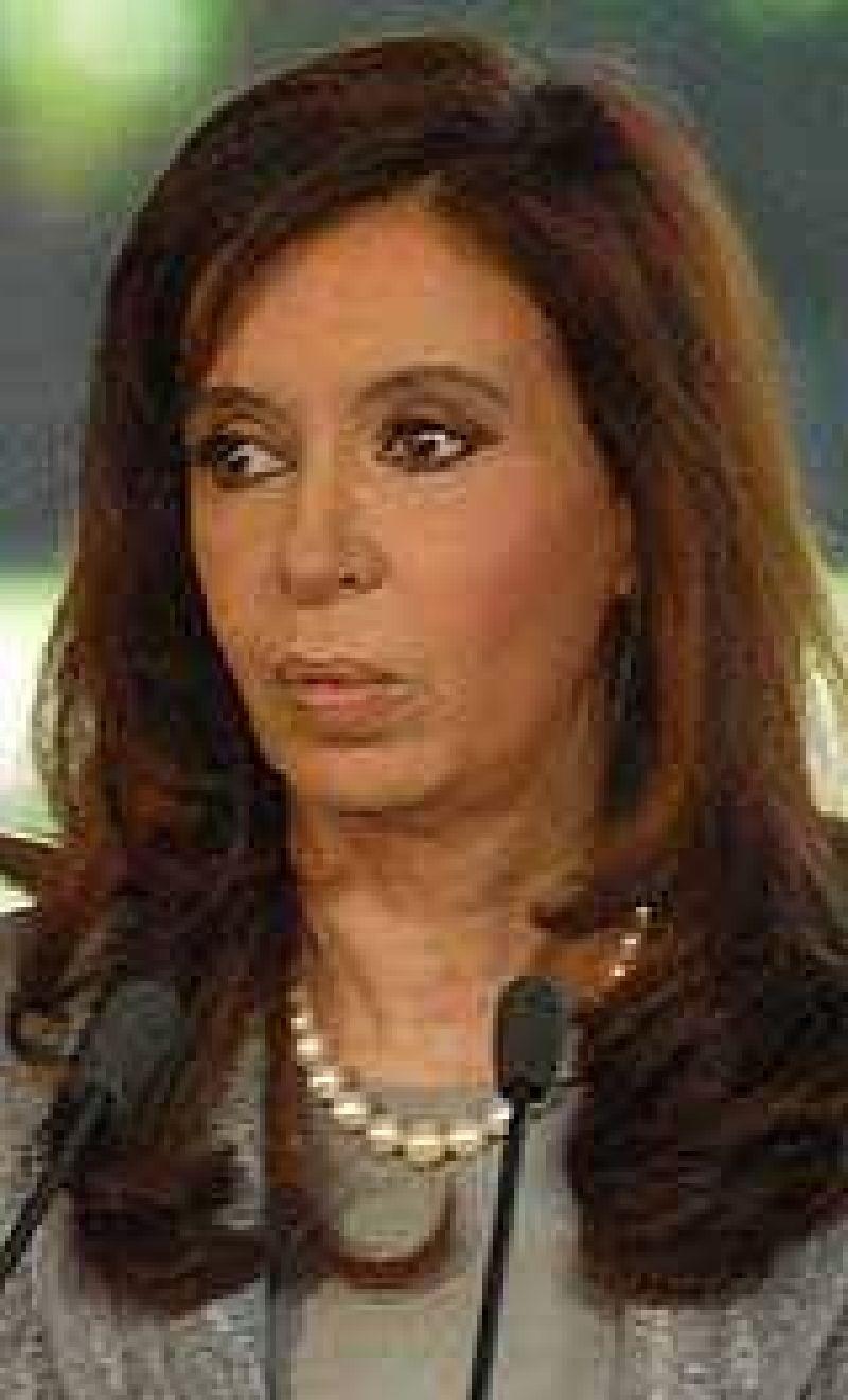 Cristina retomó la actividad oficial y se reunió con parte de su Gabinete