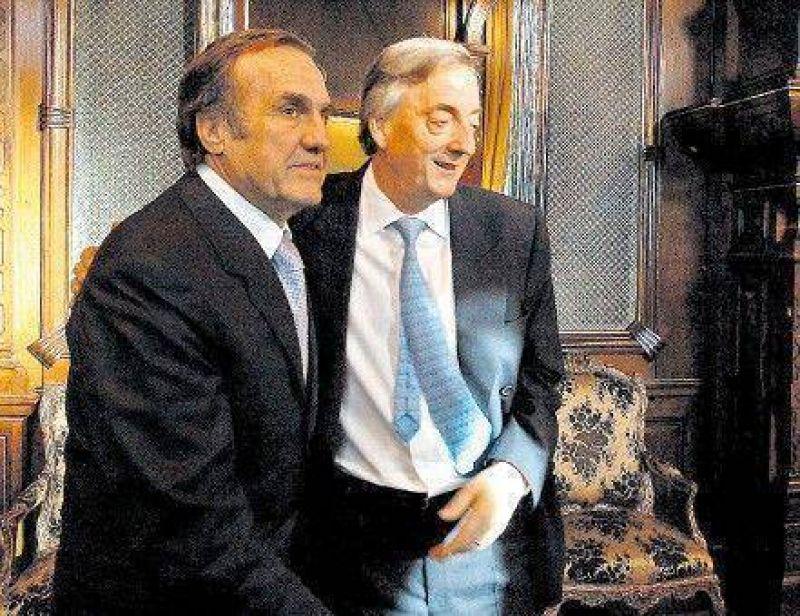 Reutemann busca el apoyo de Kirchner