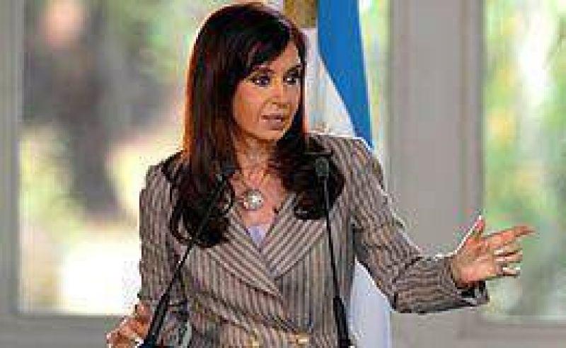 Cristina adelantó que la recaudación creció 35% en 2008