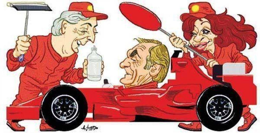 Kirchner quiere aprovechar en su favor la jugada de Reutemann