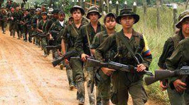 Las FARC derribaron un avión a escala