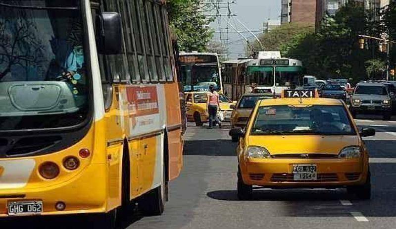 Por el caos vehicular, la UTA ya no quiere entrar al centro