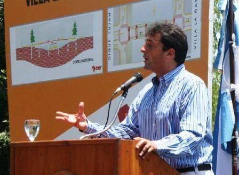 """Julio Zamora: """"Este presupuesto es muy importante para el crecimiento de Tigre""""."""
