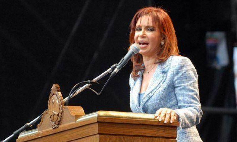 Cristina Kirchner firmará convenios para realizar obras públicas en Florencio Varela