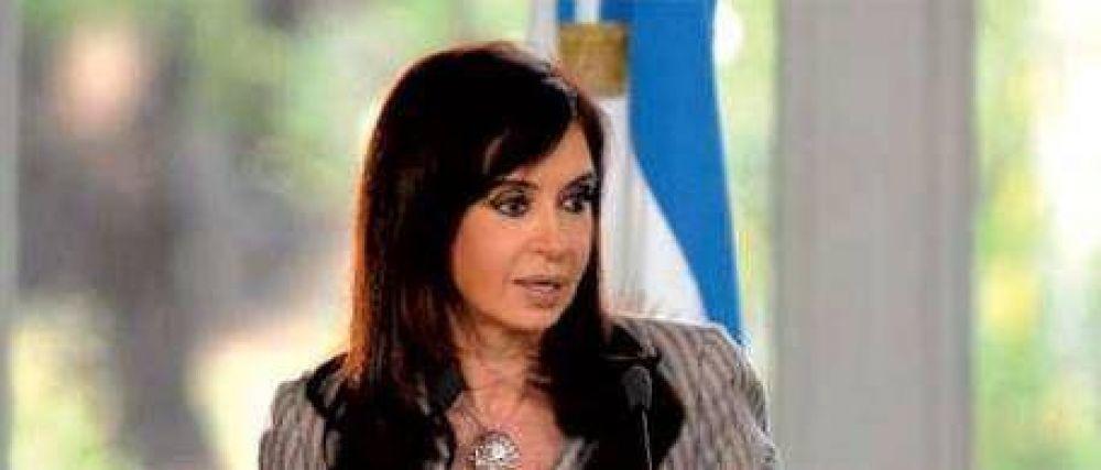 Aumento de la recaudación: Cristina omitió