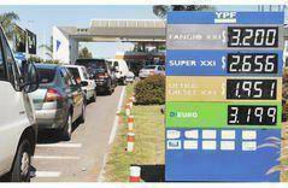 YPF subsidia a las estaciones de servicio para evitar conflictos