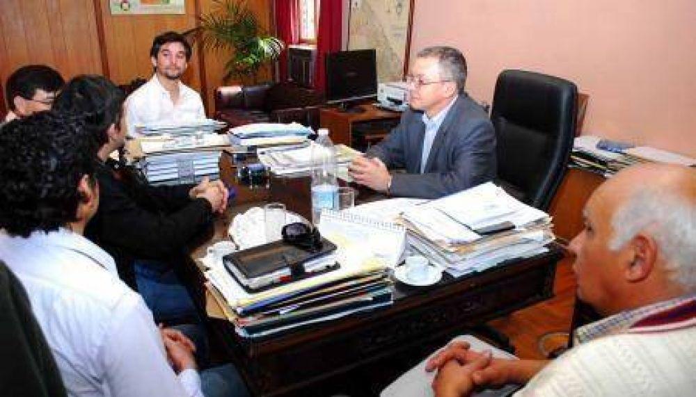 La nueva conducción de ATE se reunió con el ministro Pedrini