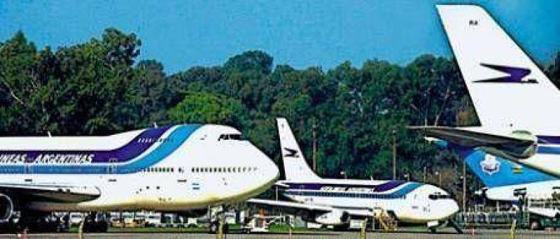 En Aerolíneas los mayores problemas están en tierra