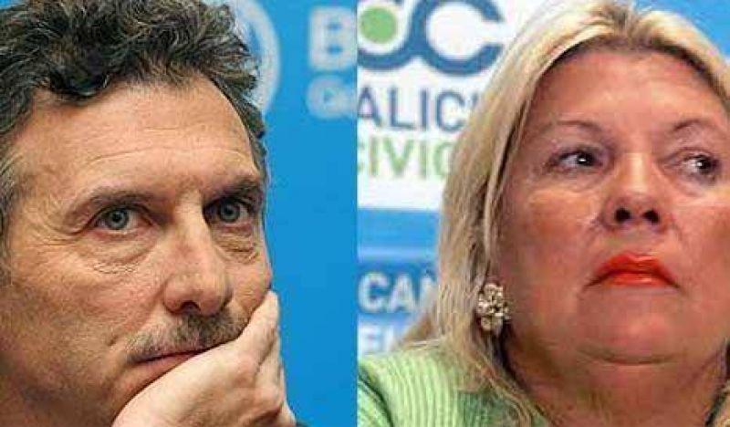 Ni Carri� ni Macri quieren que Lole les haga sombra