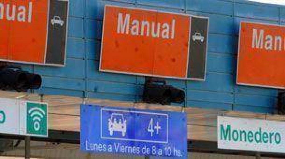 Los peajes aumentarán desde mañana en las autopistas