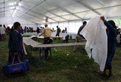 Multitudinario cierre de la Feria de Semillas