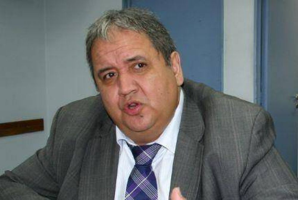 """Palazzo: """"No tenemos ningún tipo de problema que Hugo Moyano quiera ser candidato de vuelta en la CGT"""""""