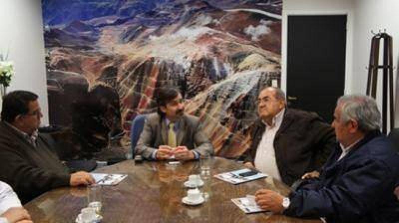 Fuerte respaldo del gremio de camioneros y CGT al desarrollo Minero Nacional