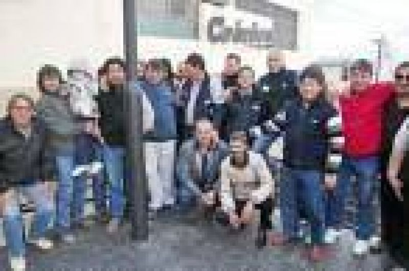 Colectiveros de Patagonia Argentina negaron los reclamos que expuso otro trabajador