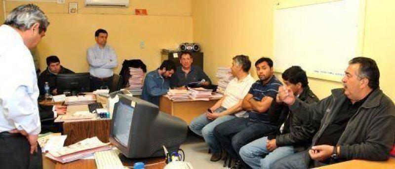 Luz y Fuerza anunció cronograma de medidas de fuerza en Transpa